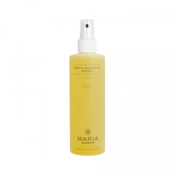 Maria Åkerberg Body & Massage Oil Natural 250 ml